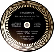 Keystrobe AU disc