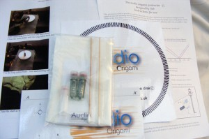 Audio Origami booster oil kit