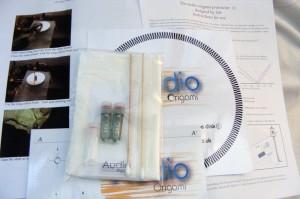 Audio Origami booster oil kit