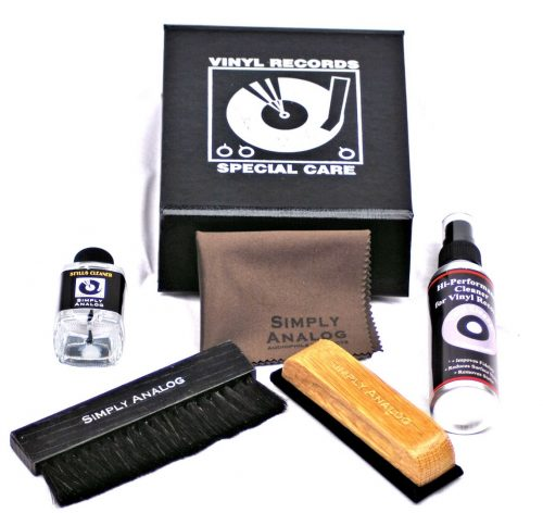 Simply Analogue Cleaning Kit Black